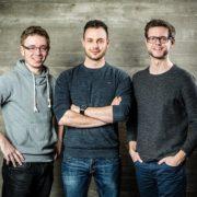 Patrick, Stefan und Florian